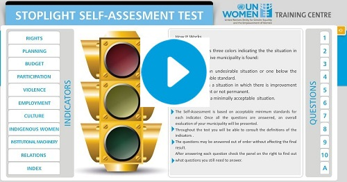 Screen capture of the Stoplight tool