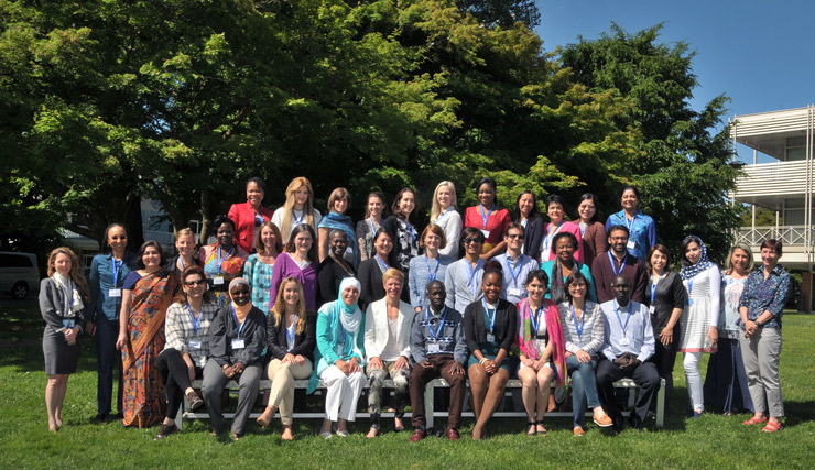 Group photo of training participants