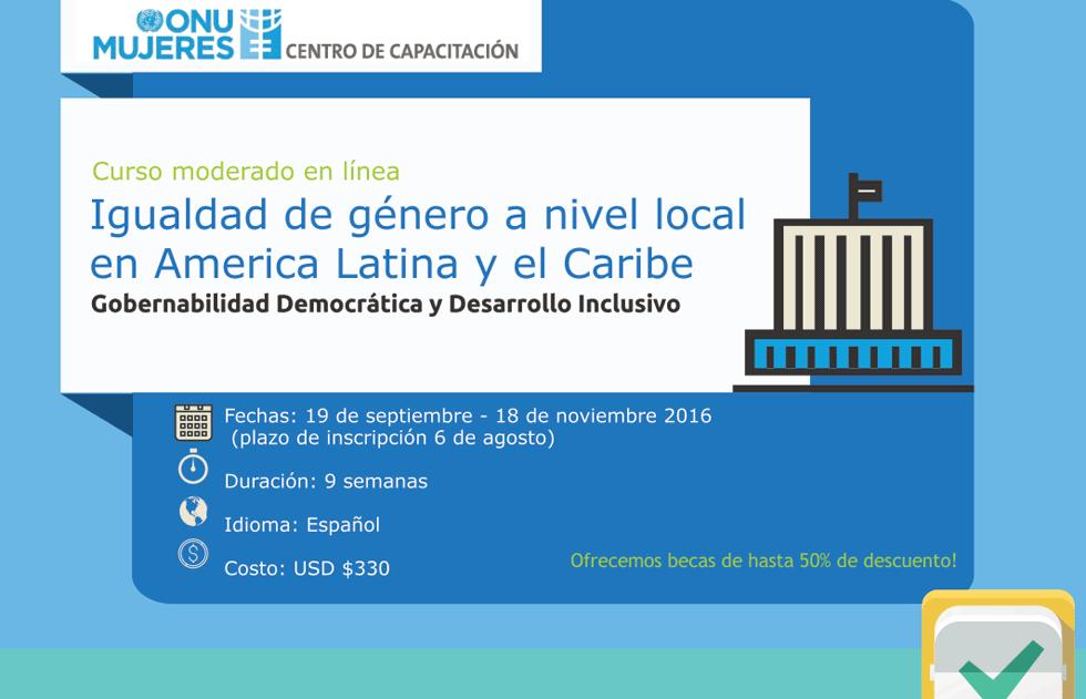 Infographic: Igualdad de Género a nivel local en América Latina y el Caribe