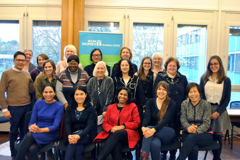 Leading for Gender Equality workshop in Geneva