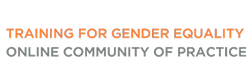 Community of Practice on Training for Gender Equality