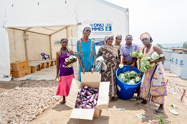 collective efforts to cultivate vegetables for a shared profit