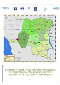 Programme autonomisation economique des femmes rurales